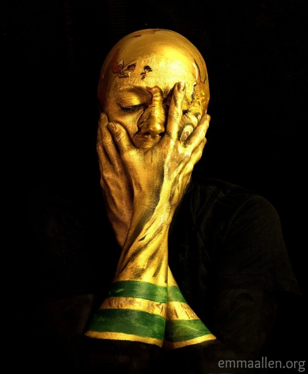 Emma Allen World Cup Trophy Make Up