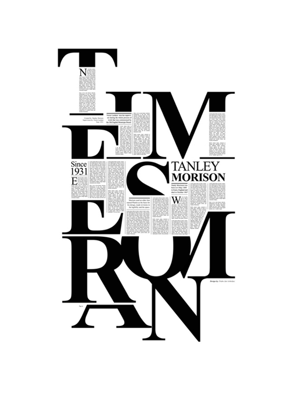 Times New Roman Typography