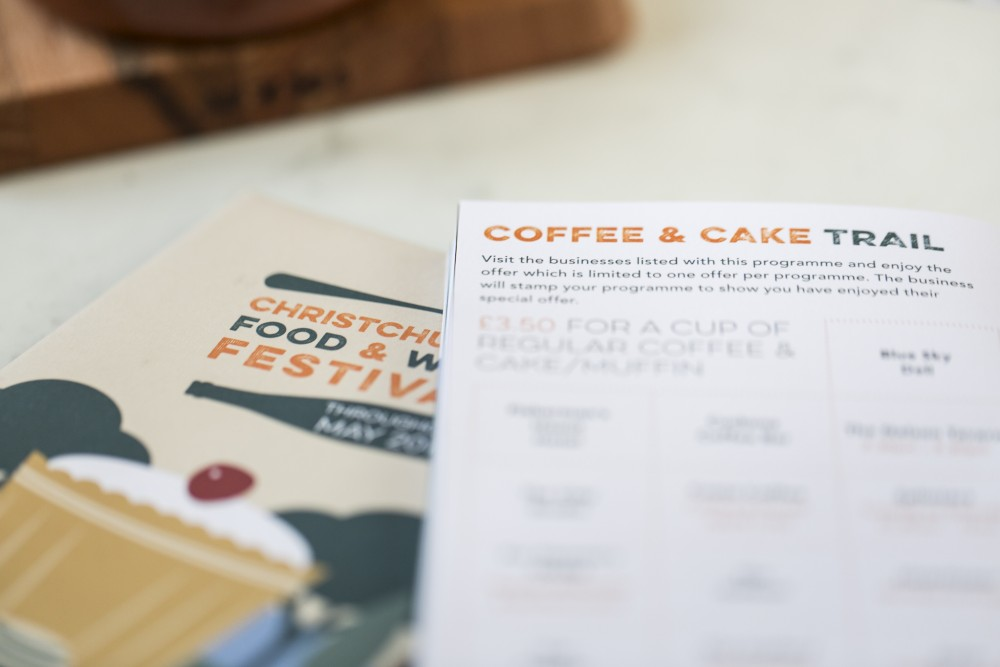 Christchurch Food Festival Brochure