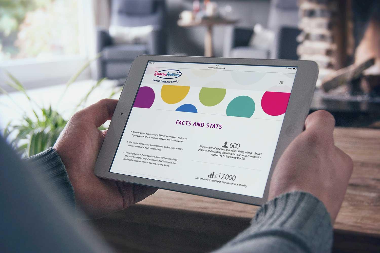 Website design for Diverse Abilities
