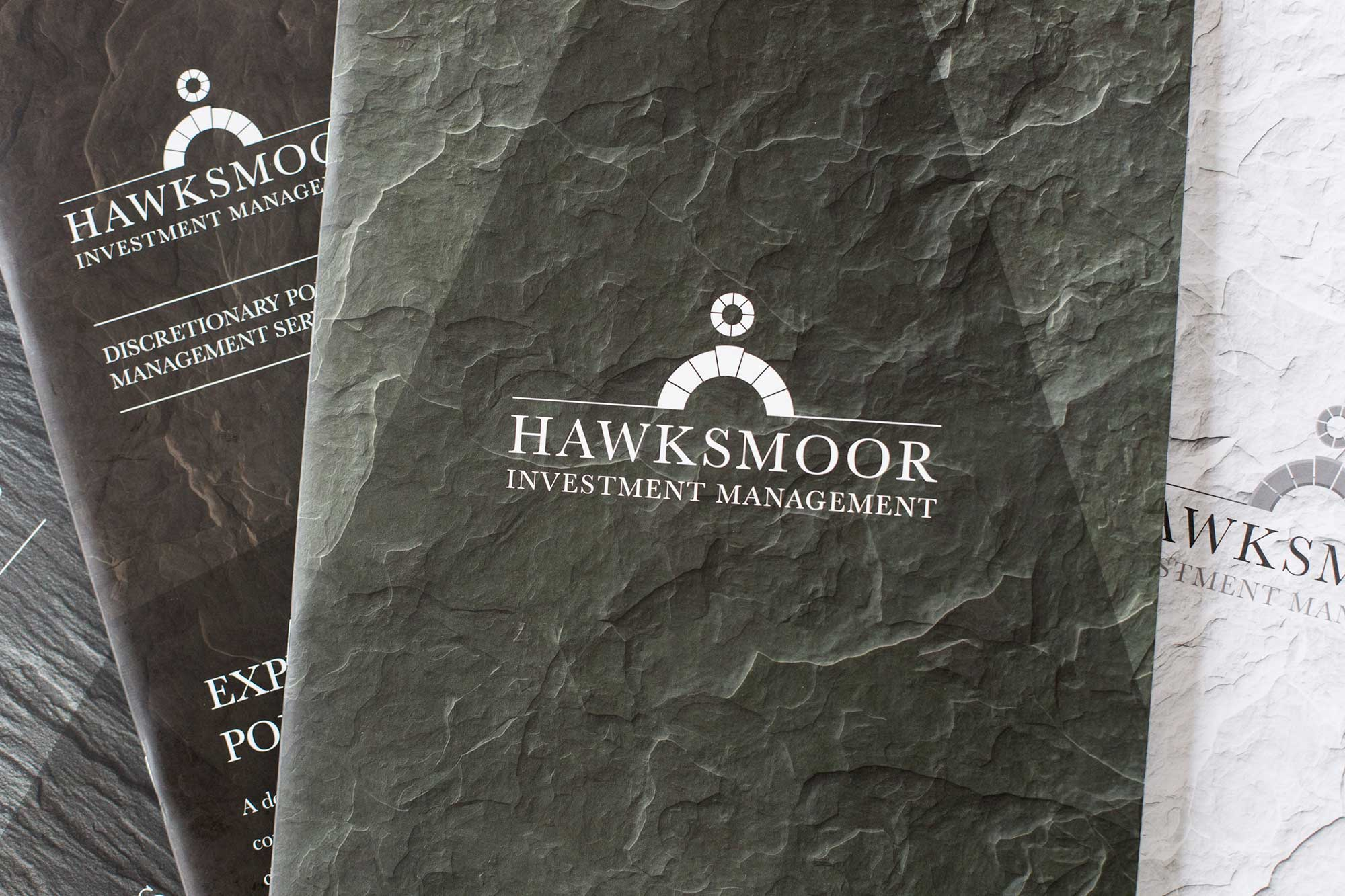 Brand design and strategy for Hawksmoor Investment Management