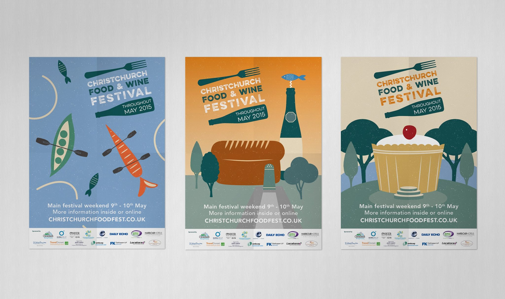 Christchurch Food Festival design and print project