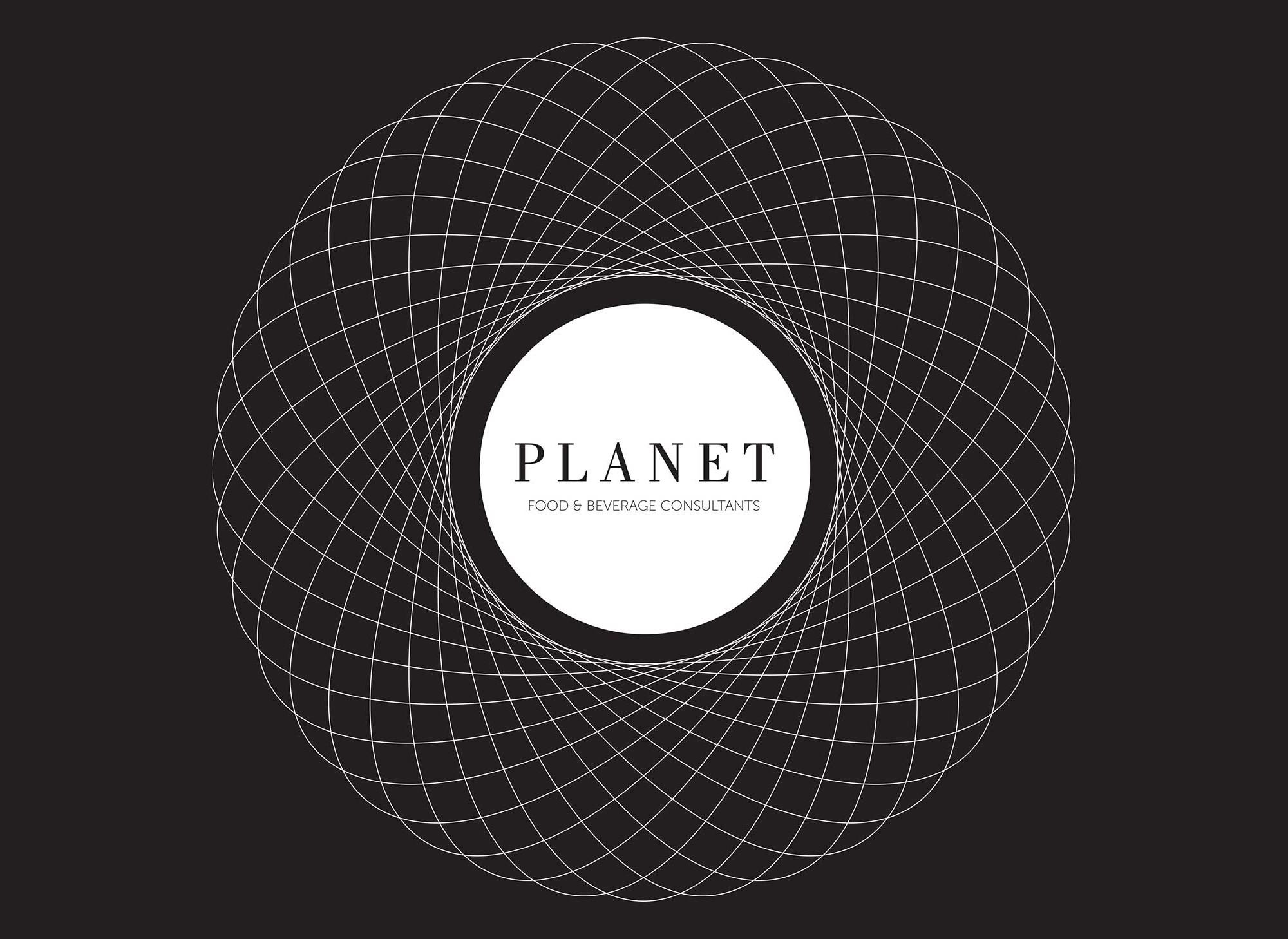 Planet Food Logo and Branding Design