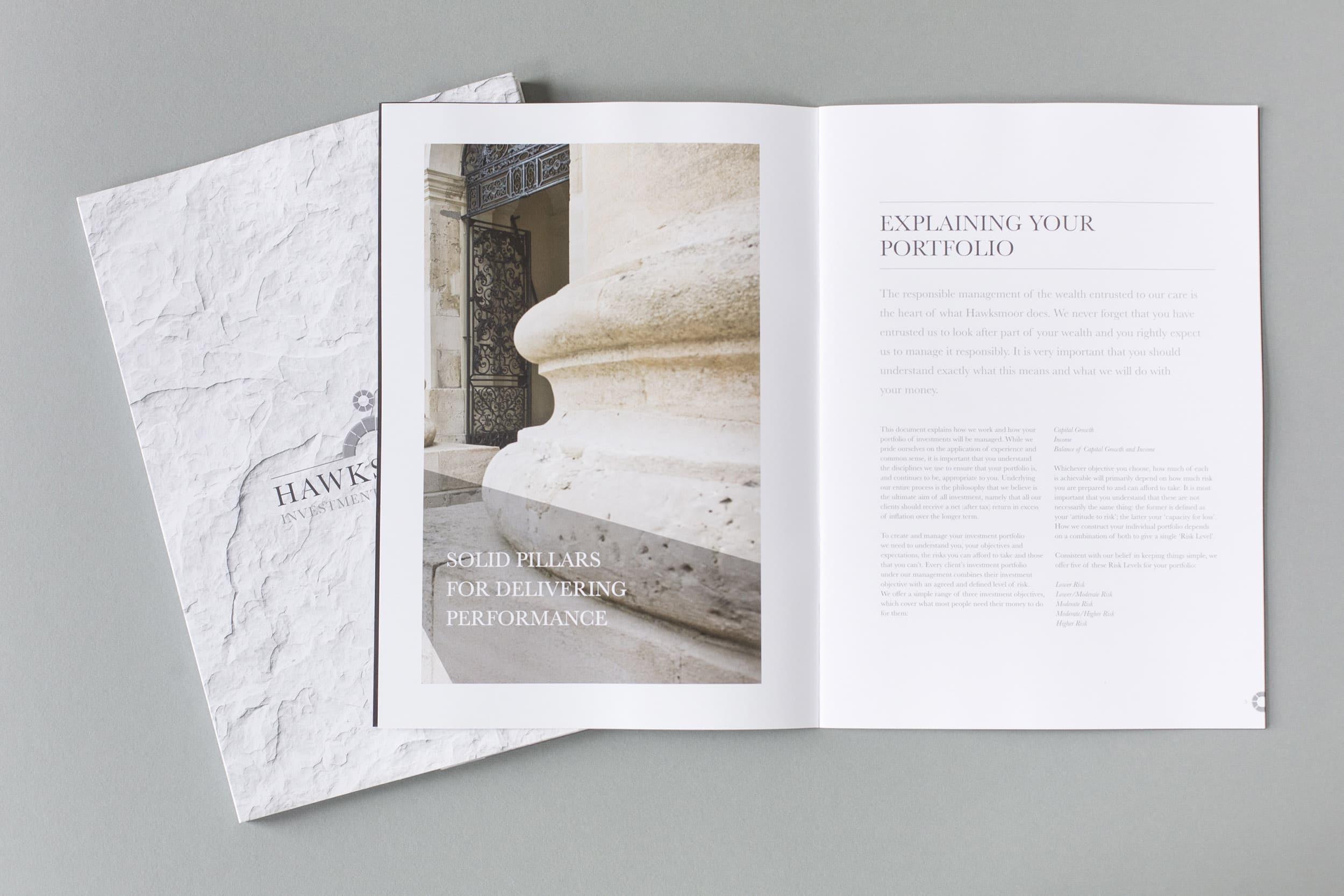 Hawksmoor design and print project