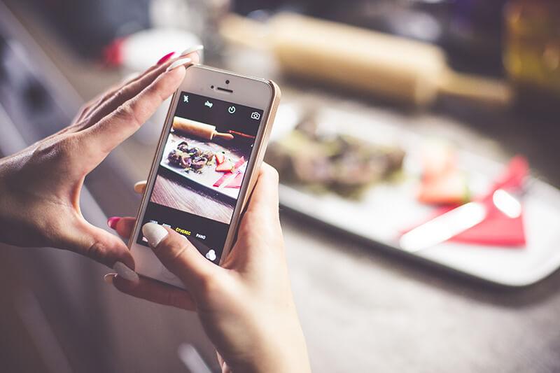 restaurants on instagram