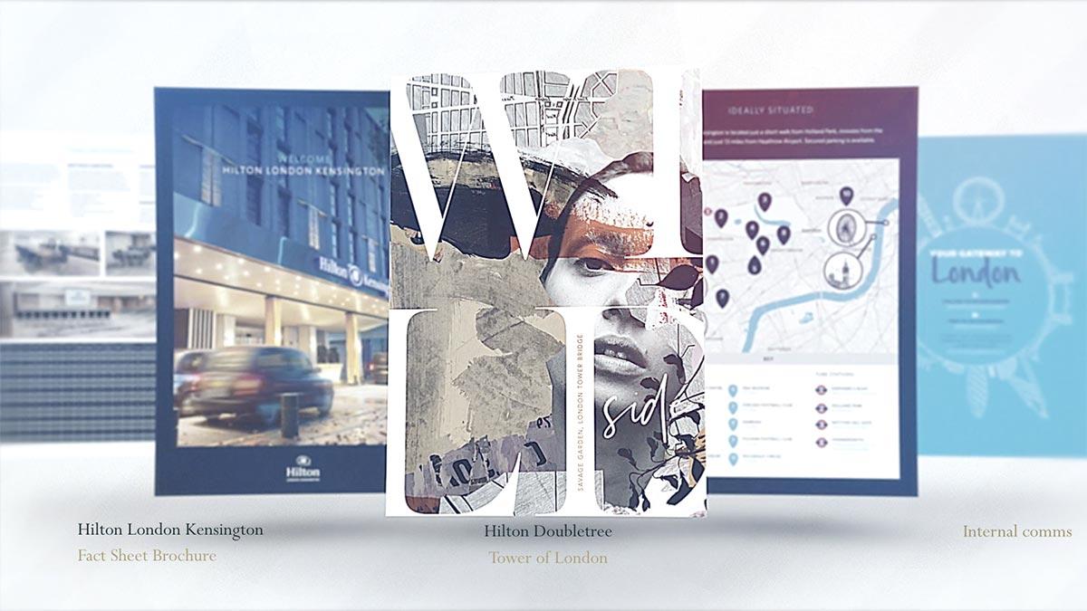 Considered, beautiful marketing materials